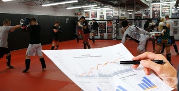 Методи за изследване на състезателната ефективност в кикбокса - изображение