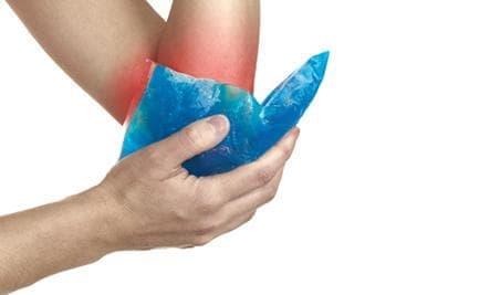 Лечение с лед при спортни травми (криотерапия) - изображение