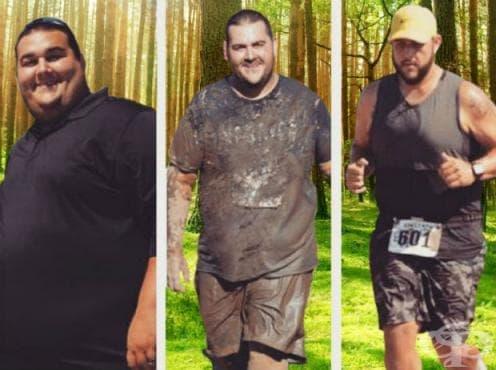 Марио Самора и неговата история за справянето със затлъстяването - изображение