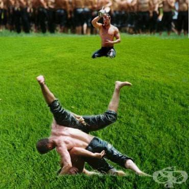 Мазна борба - изображение