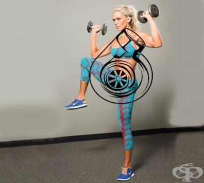 15-минутна домашна тренировка за цялото тяло, за ускоряване на метаболизма - изображение