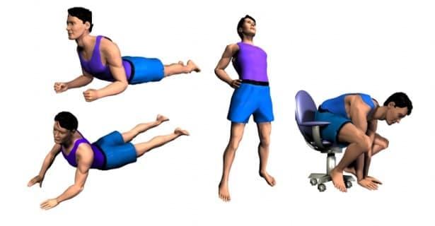 Методът на Маккензи при лечение на болка в кръста - изображение