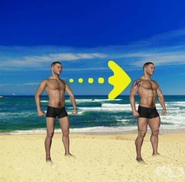 Програма за натрупване на 5 килограма мускулна маса за 1 месец - изображение