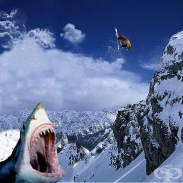 Най-опасните ски маршрути в света - изображение