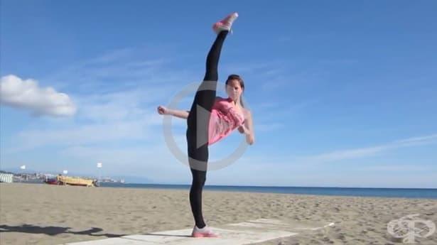 Невероятните умения на хора, занимаващи се с бойни изкуства - Видео - изображение