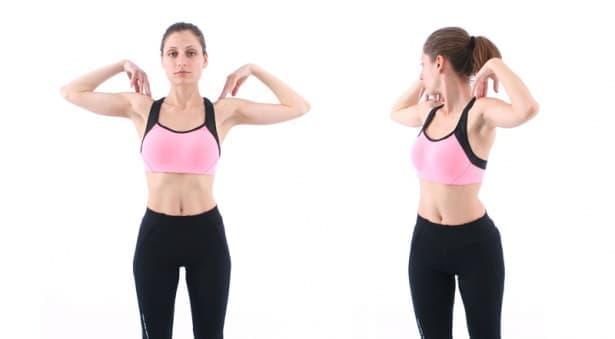 Упражнения на Норбеков за гръбначния стълб - долен гръден сегмент - изображение