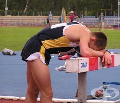Остро спортно пренапрежение - изображение