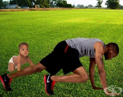 Пълзенето – чудното упражнение за всички възрасти - изображение