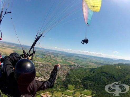 Локации за летене с парапланер в България - изображение