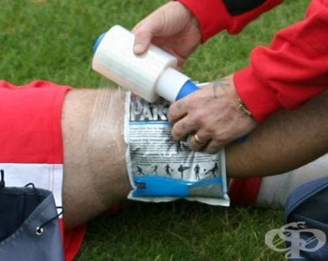 Първа помощ при спортни травми - изображение