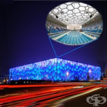 Национален център по водни спортове Пекин - изображение