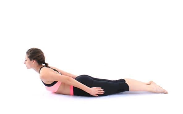 Пилатес упражнения - Гръбна екстензия - изображение