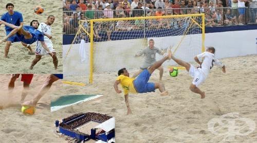 Плажен футбол - изображение