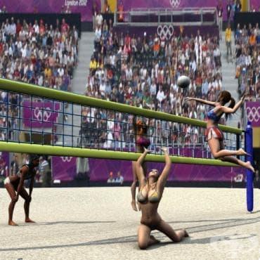 Плажен волейбол - изображение