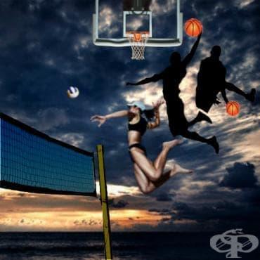 Тренировка за по-висок отскок в баскетбола / волейбола с... раменни преси - изображение