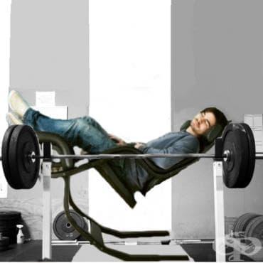 Почивката като метод за мускулен растеж - изображение