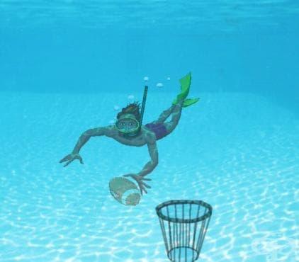 Подводно ръгби - изображение