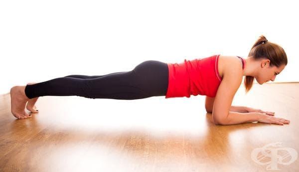 7 ползи за тялото от редовното практикуване на планк (поза дъска) - изображение