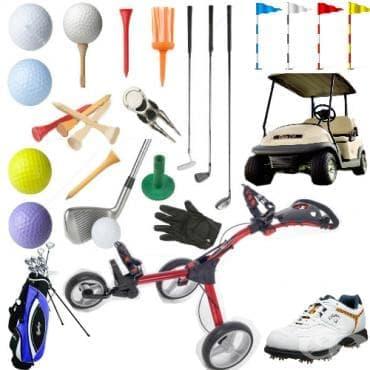 Пособия за голф - изображение