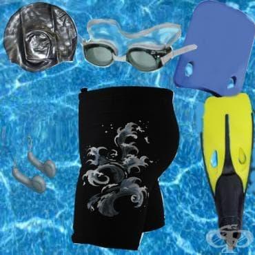 Пособия за плуване - изображение