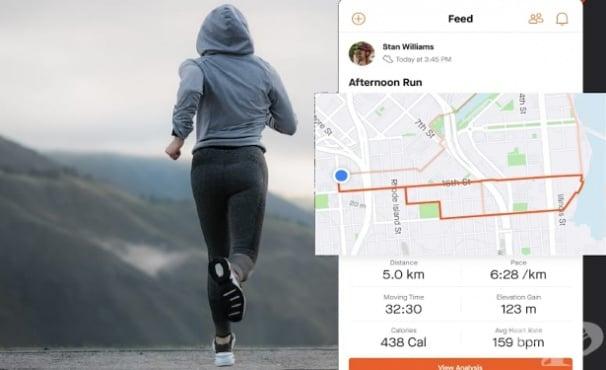 Най-добрите тракер приложения за бягане за Android - изображение