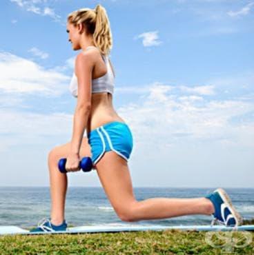 Тренировка за елегантни и тонизирани крака - изображение