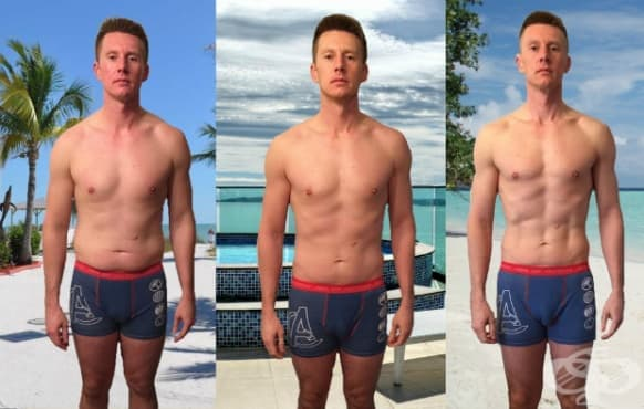 Направих 3 промени в живота си и пълното дете се превърна в атлетичен мъж - изображение