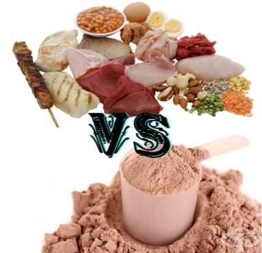 Високопротеинови храни срещу протеин на прах – научната гледна точка - изображение