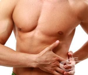 Разтежение на коремните мускули в спорта - изображение
