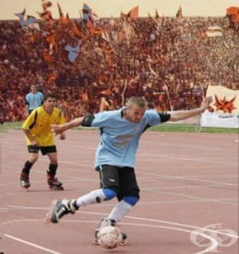 Ролер футбол - изображение