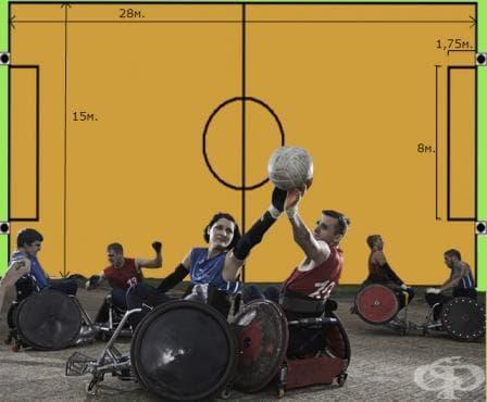Ръгби с инвалидни колички - изображение