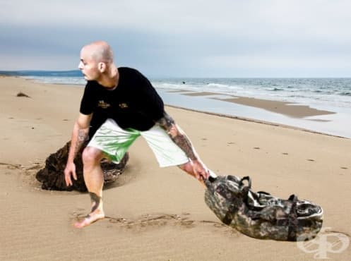 Кръгова кондиционна тренировка с пясъчна торба - изображение