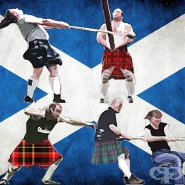 Шотландски игри - изображение