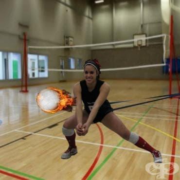 Тренировка за сила във волейбола - изображение