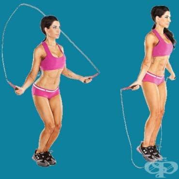 Скачане на въже - изображение
