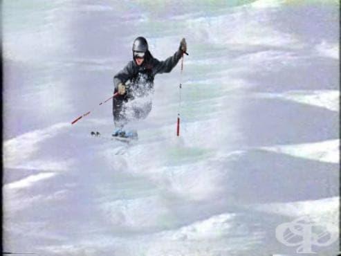 Ски спускане по бабуни - изображение