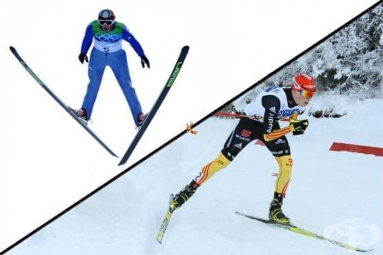 Ски северна комбинация - изображение