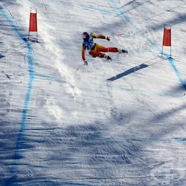Ски спускане - изображение