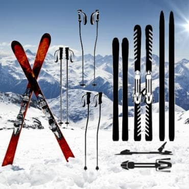Ски - изображение