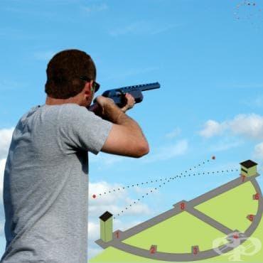 Скийт стрелба - изображение