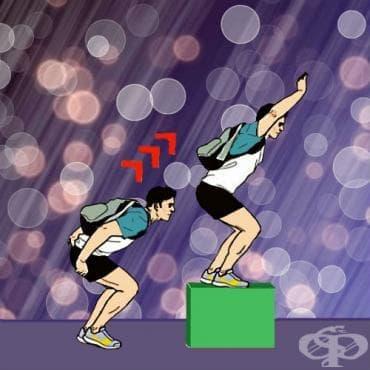 Скокове върху кутия - изображение