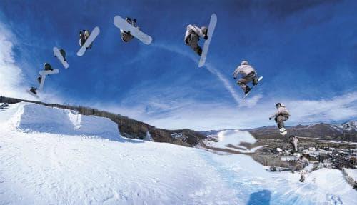 Сноубординг - изображение