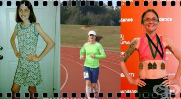 Спорт = живот – историята на Валерия, която пребори анорексията с бягане - изображение