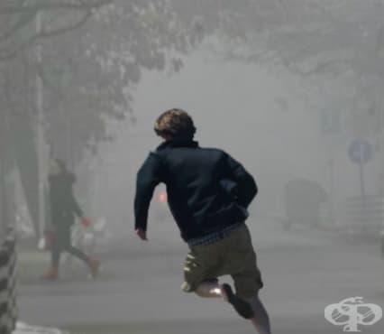 Замърсяването на въздуха и тренировките - изображение