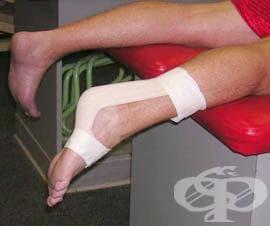 Спортен тейпинг на ахилесовото сухожилие - изображение