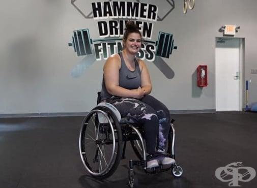 Стефани Хамерман – жената, която побеждава церебралната парализа чрез спорт - изображение