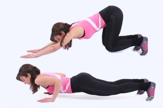 Как да направим страхотна тренировка за отслабване само с 1 упражнение - изображение