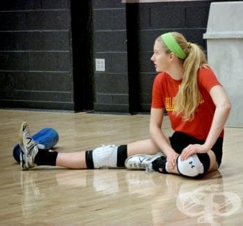 Стречинг техники във волейбола - изображение