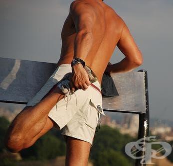 Стречинг упражнения след бягане - изображение