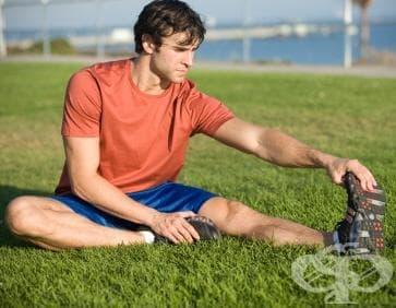 Стречинг техники във футбола - изображение